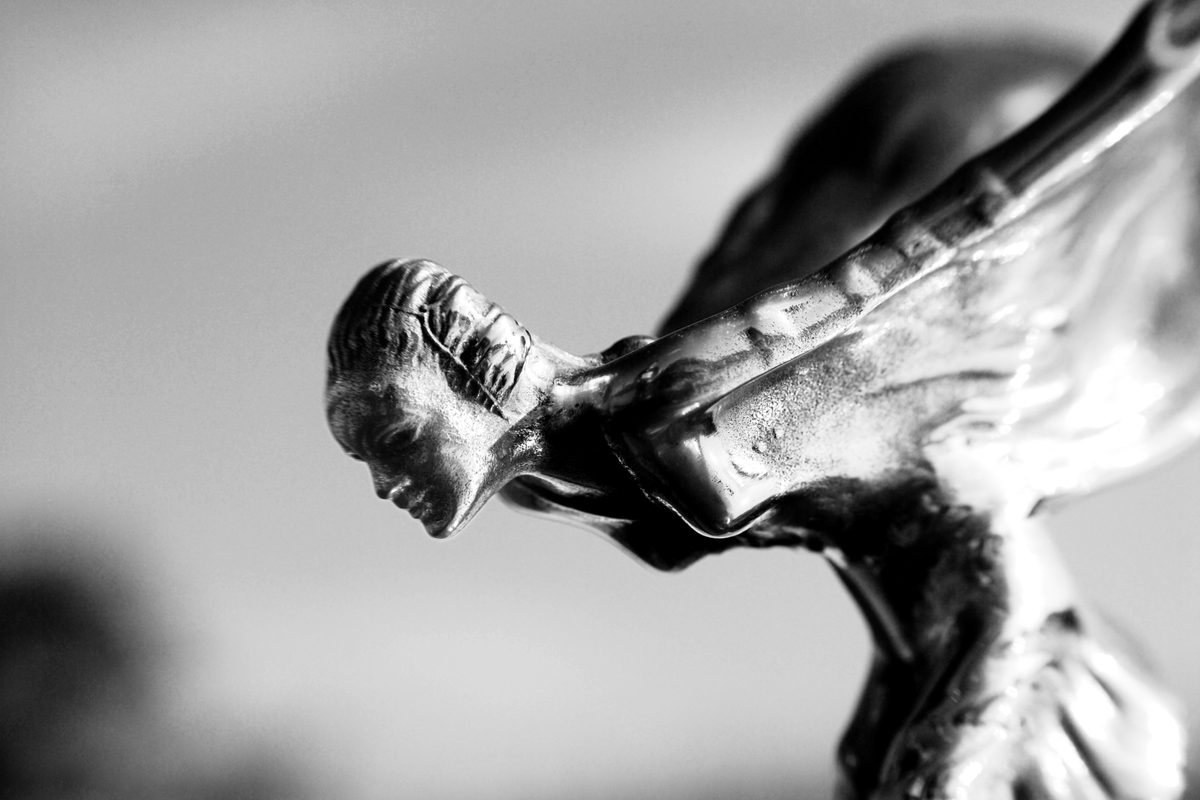 Rolls Royce Emily Spirit of Ecstasy close up view by Nikolai Winter